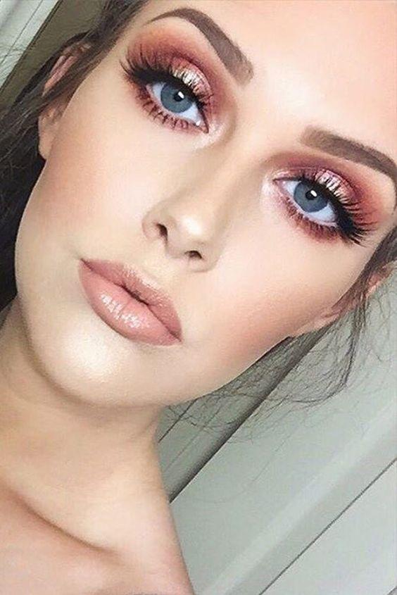 gold makeup ideas