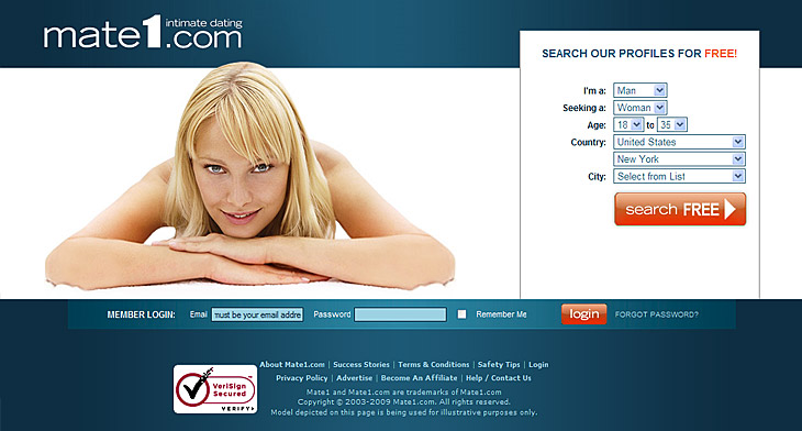 Www mate1 com nw profile homepage