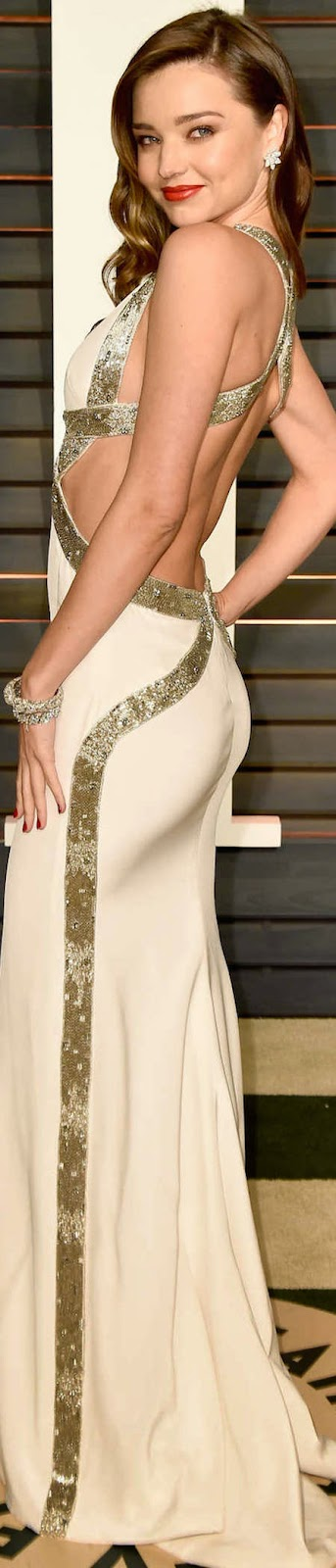 2015 Vanity Fair Oscar Party Miranda Kerr