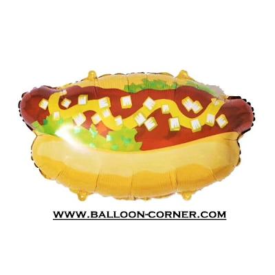 Balon Foil HOT DOG