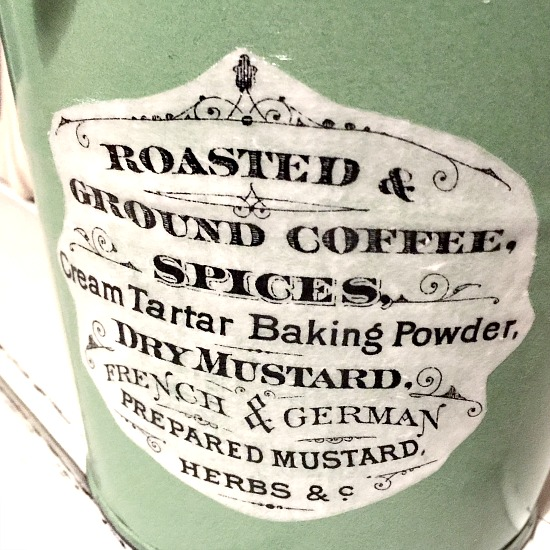 Adding an Image to an Enamelware Pail