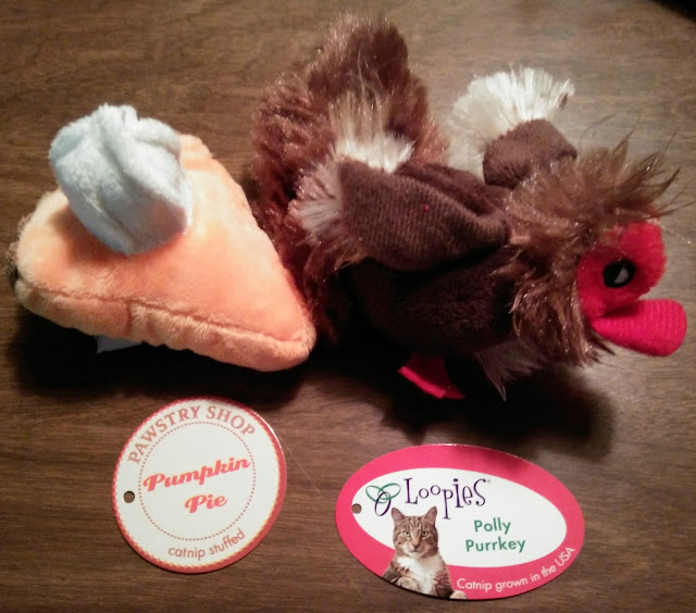 Thanksgiving cat toys