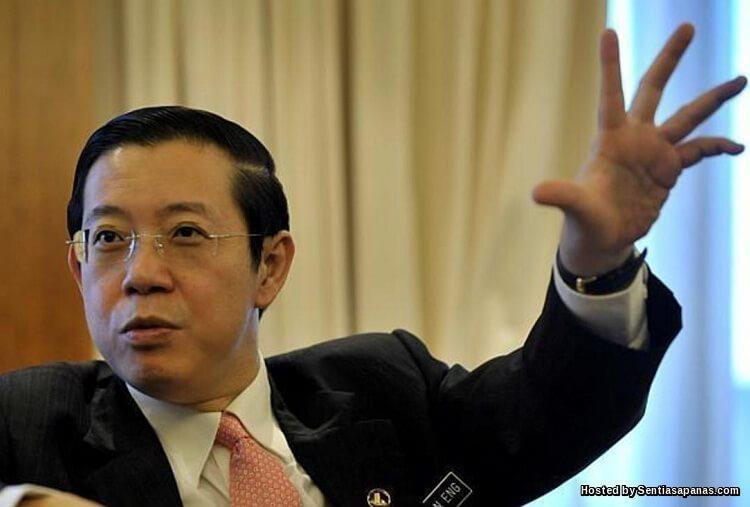 Lim Guan Eng Menteri Kewangan