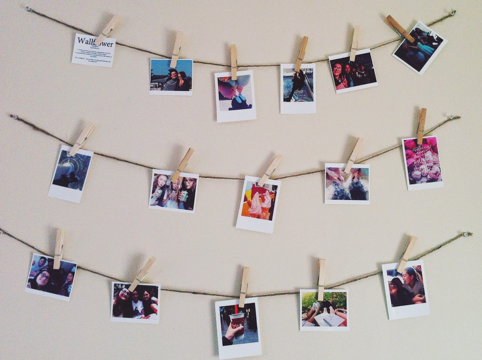 Cindy S Crafty Craves Diy Polaroid Photos And Decor