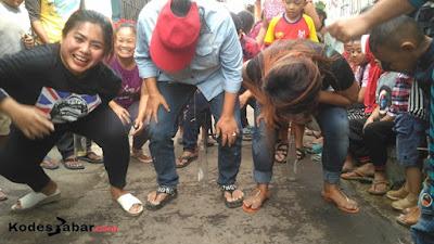 Lomba Agustusan Dalam Sebuah Gang Sempit di Sudut Kota Bandung