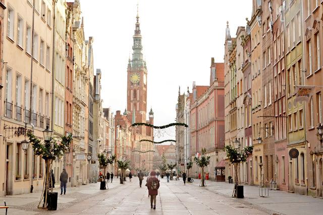 Vistas de Gdansk