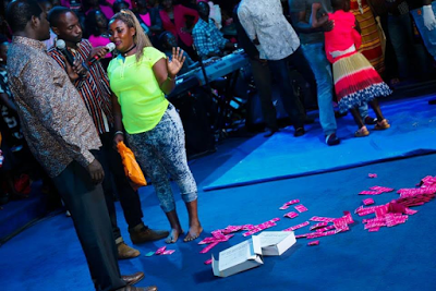 Uganda prostitute surrenders all her condom packs after convicted by the Holy Ghost (Photos)