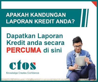 Cara dapatkan Laporan Kredit ctos