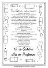 Mensagens para o Dia dos Professores para imprimir!