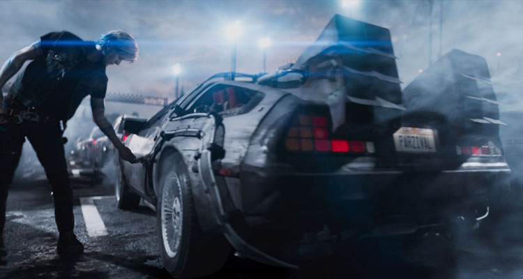 El Delorean de Regreso al Futuro en Ready Player One