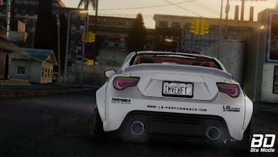 Download mod carro de drift Toyota GT86 Liberty Walk para o jogo GTA San Andreas.