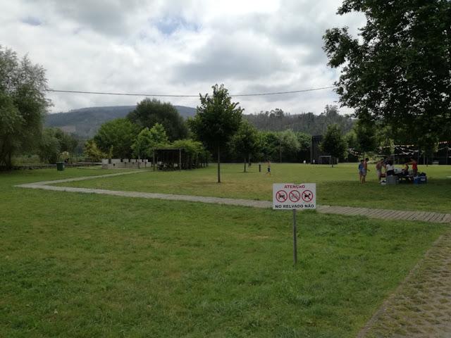 Proibições no parque de merendas