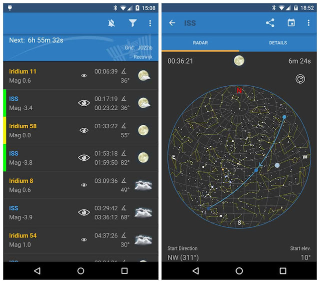 ISS Detector Satellite Tracker Pro Apk