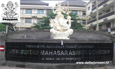 Daftar Fakultas dan Program Studi UNMAS Universitas Mahasaraswati Denpasar