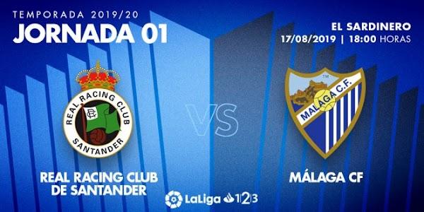 El Málaga conoce los horarios de las tres primeras jornadas de LaLiga 1|2|3