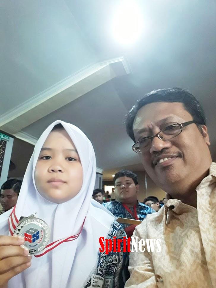 Novelya Putri Ramdhani, Siswi SMP Atirah Kajaolalido, Meraih Piala Perak OSN Nasional