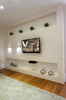 صور ديكورات وجهات تلفزيون اجمل ديكورات الجدران