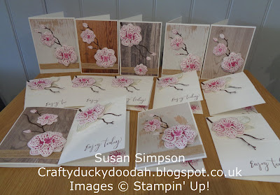 #stampinupuk, Craftyduckydoodah!, Orchid Builder, May 2018 Coffee & Cards Project, Supplies available 24/7 from my online store, Stampin' Up! UK Independent  Demonstrator Susan Simpson, #lovemyjob,