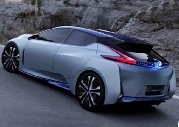 2018 Nissan Leaf Redesign