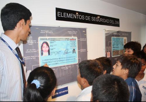 Museo De La Identificación Del Reniec En Lima