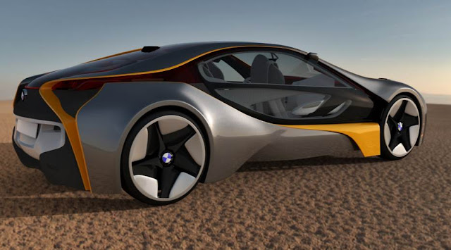 BMW Vision Efficientdynamics Electric Concept Car