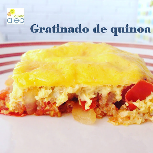 Gratinado de quinoa ALEA