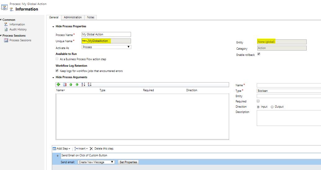 Javascript Send Email