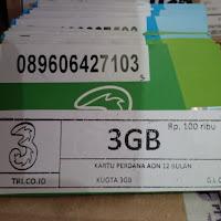 Perdana data tri quota regular