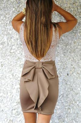 Skirt back style