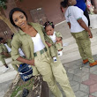 So Cute! Female NYSC Member Warms Hearts Online as She Poses with Her Little Daughter in Matching Uniforms (Photos)