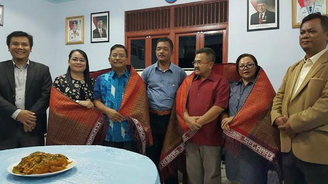 Silaturahmi Sebagai Wujud Syukur Gembala & Jemaat HKBP Sekadau dengan Bupati & Wakil Bupati