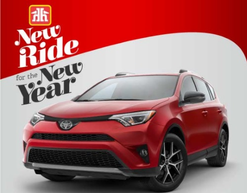 Home Hardware Toyota Rav 4 Contest