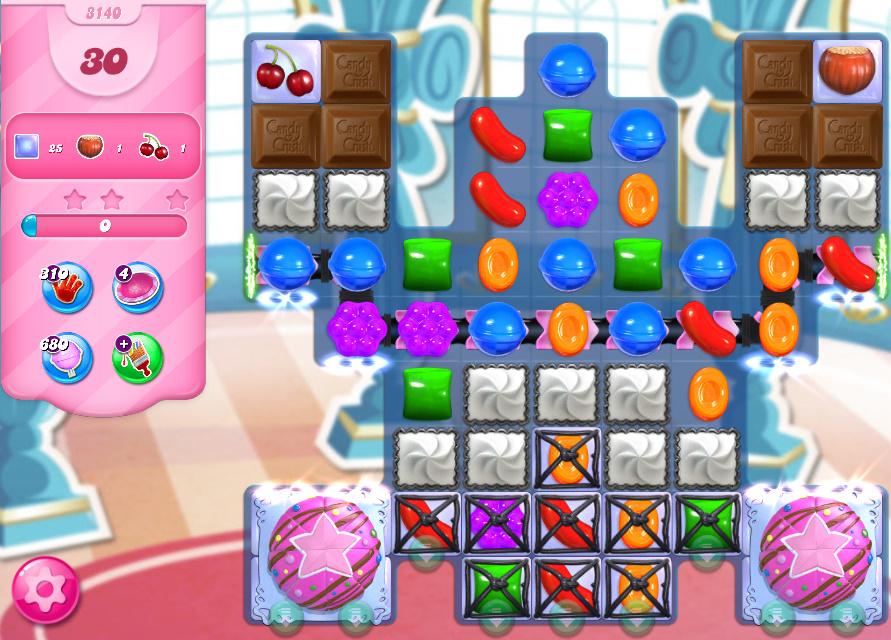 Candy Crush Saga level 3140