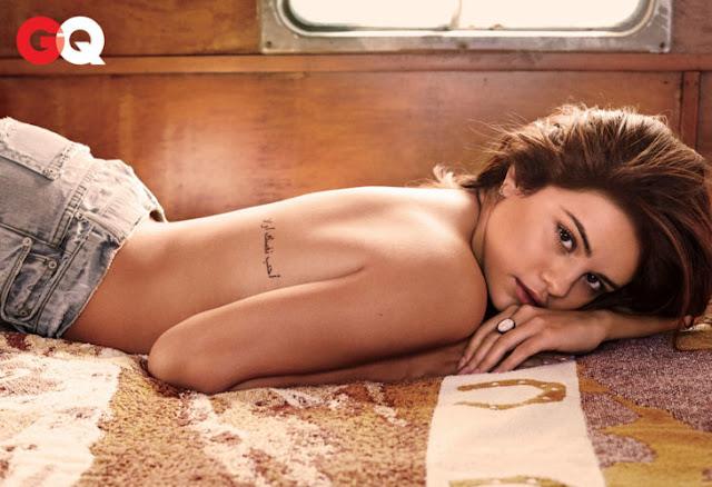 Selena Gomez en sesión de fotos para la revista GQ