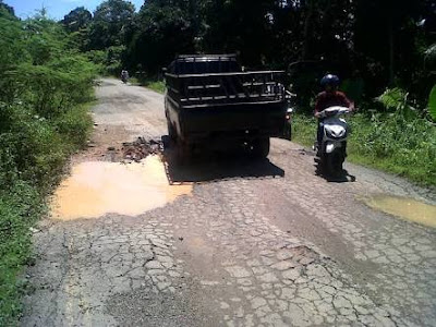 Jalan Padang Lamo dan Muaratabir Hancur, Ini Penjelasan Kadis PUPR