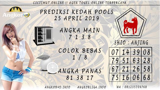 Prediksi Angka Jitu KEDAH POOLS 25 APRIL 2019