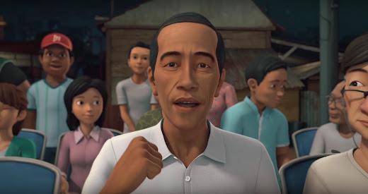 Pak Jokowi sedang berkunjung di Adit Sopo Jarwo