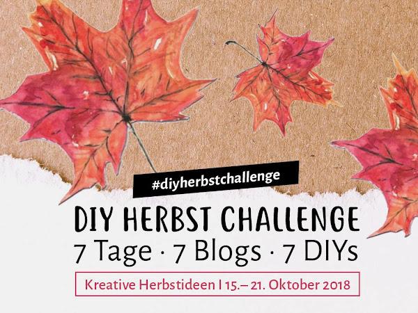 DIY Themenwoche Herbst - die Kreativ Challenge - Beitrag von der lieben Lena von Kreativliebe
