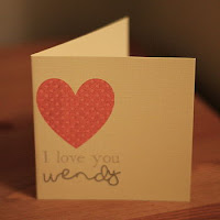 St Valentines DayCard by Daisy Dots