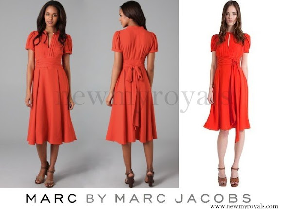 Crown Princess Mary wore Marc by Marc Jacobs Mimi CDC Dress