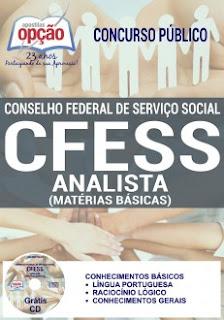 Apostila CFESS 2017 ANALISTA (MATÉRIAS BÁSICAS)
