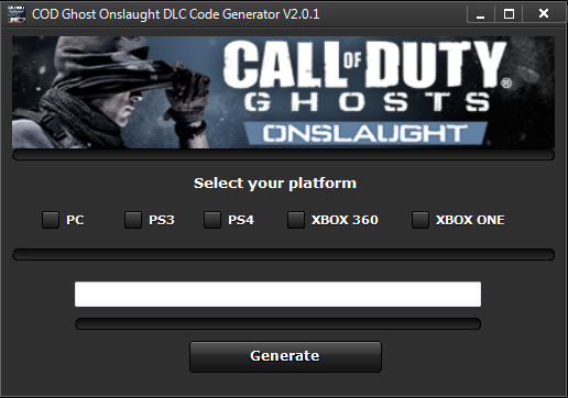 call of duty ghosts free redeem codes