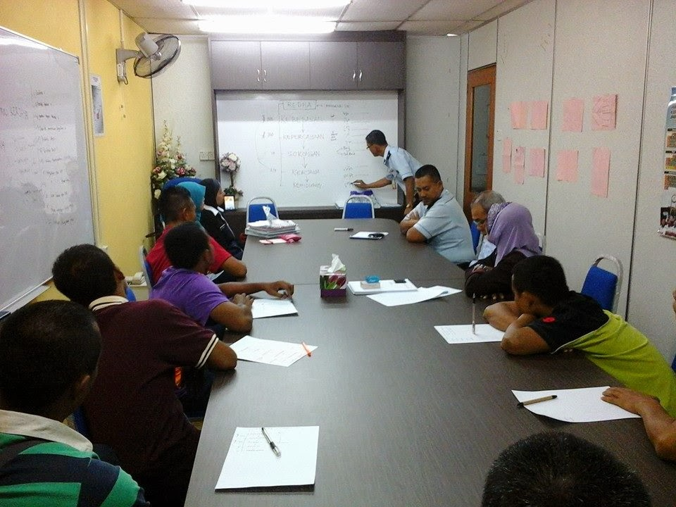 Program intervensi dan motivasi Parol Negeri Sembilan, Jabatan Penjara Malaysia.