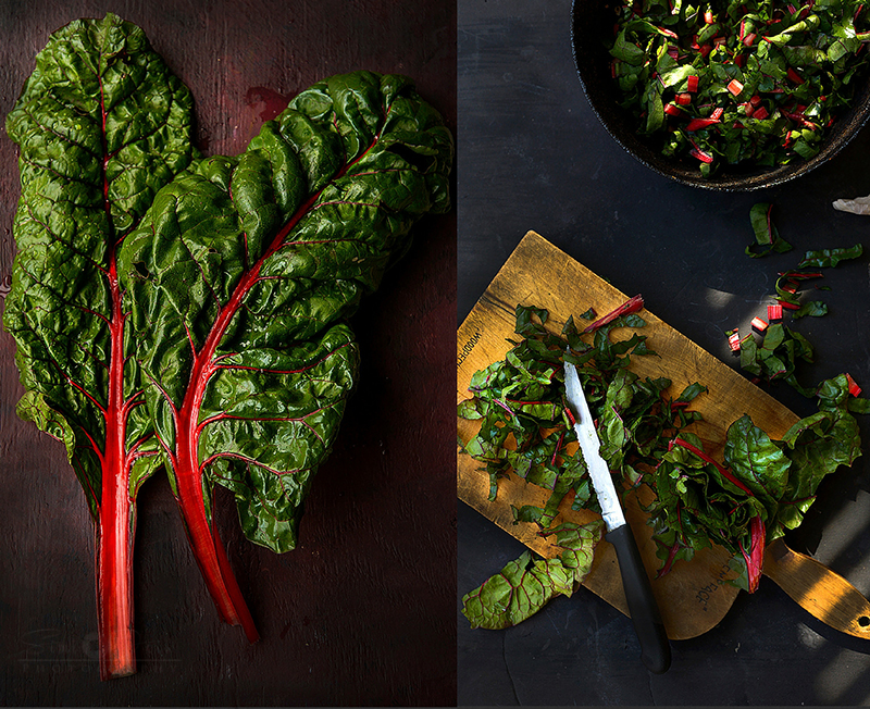 Swiss chard - Simi Jois photography
