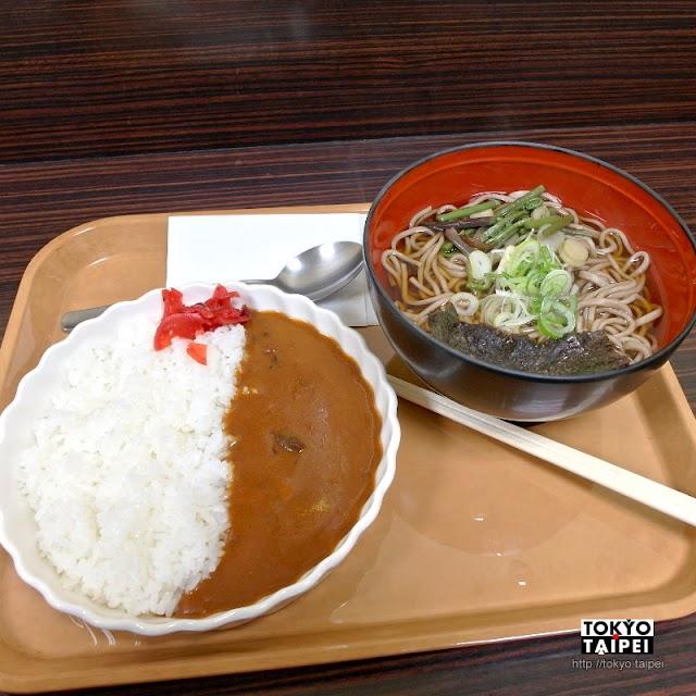 【疾風】冷冷的夜裡 在車站吃咖哩飯和蕎麥麵