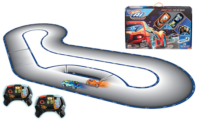 Hot Wheels circuito de carreras con Inteligencia artificial