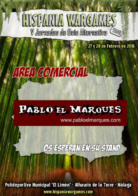 Stand comercial: Pablo El Marques