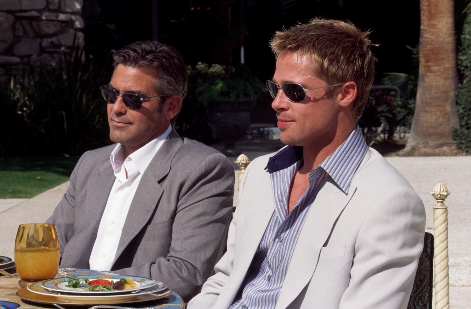 George Clooney and Brad Pitt star in play on gay-marriage ...