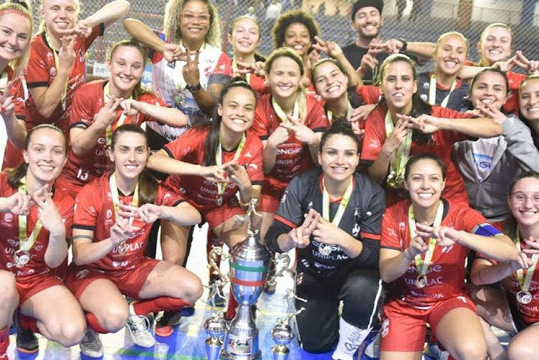 Campeãs da Liga Catarinense