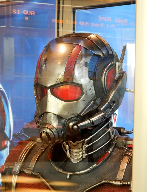 AntMan movie helmet detail